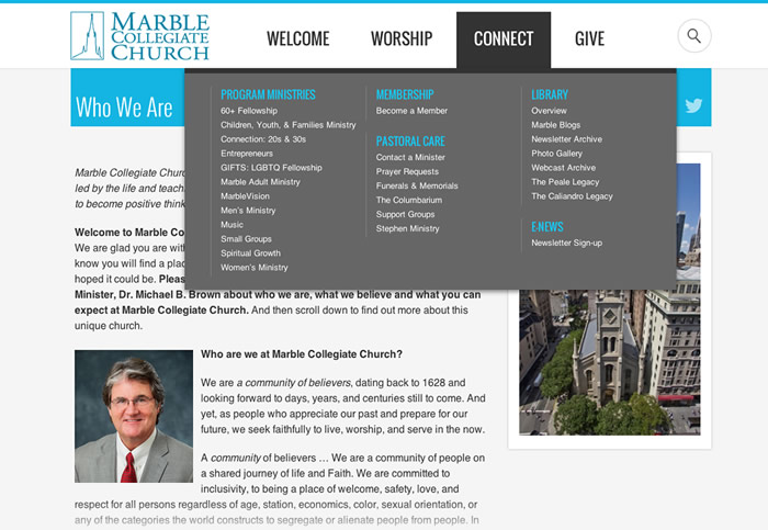 Marble Church Website