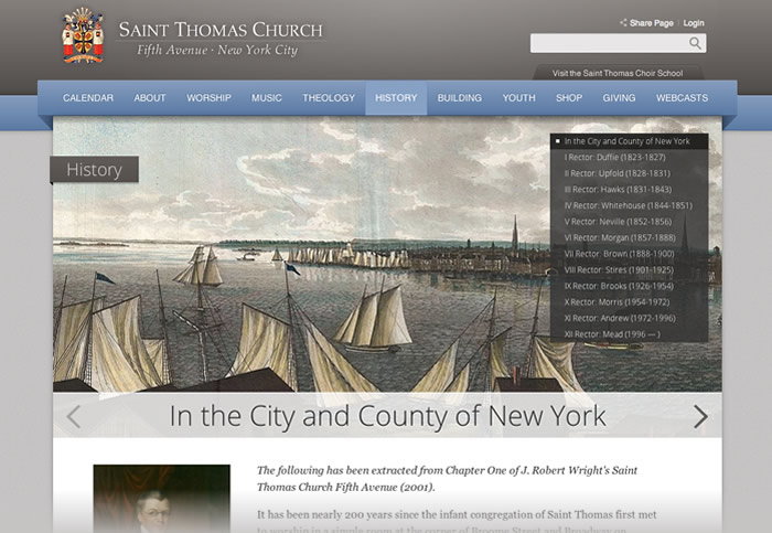 St Thomas Church Website
